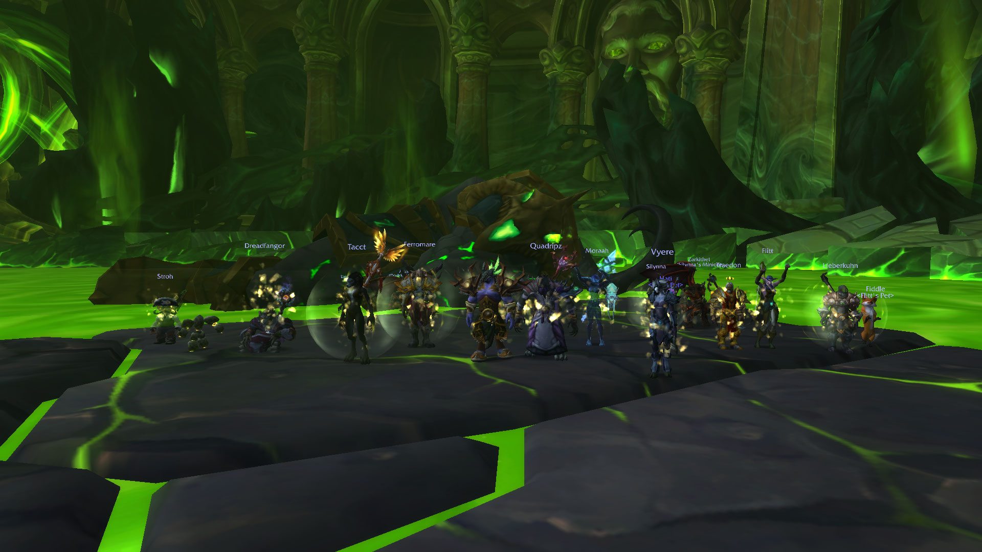 Cleared Normal Tomb Of Sargeras Obsidian Overlords Perenolde